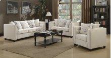 Winslow Beige Fabric Sofa