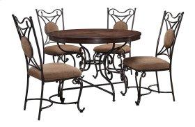 Brulind - Brown 5 Piece Dining Room Set