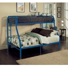 TRITAN BLUE T/F BUNK BED