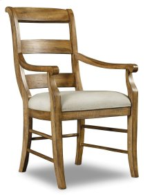 Dining Room Archivist Ladderback Arm Chair