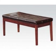 Brown Cherry Bench W/esp. Pu