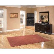 Huey Vineyard - Black 2 Piece Bedroom Set