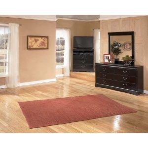 Ashley Furniture Huey Vineyard - Black 2 Piece Bedroom Set