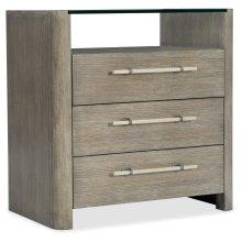 Bedroom Affinity Three-Drawer Nightstand