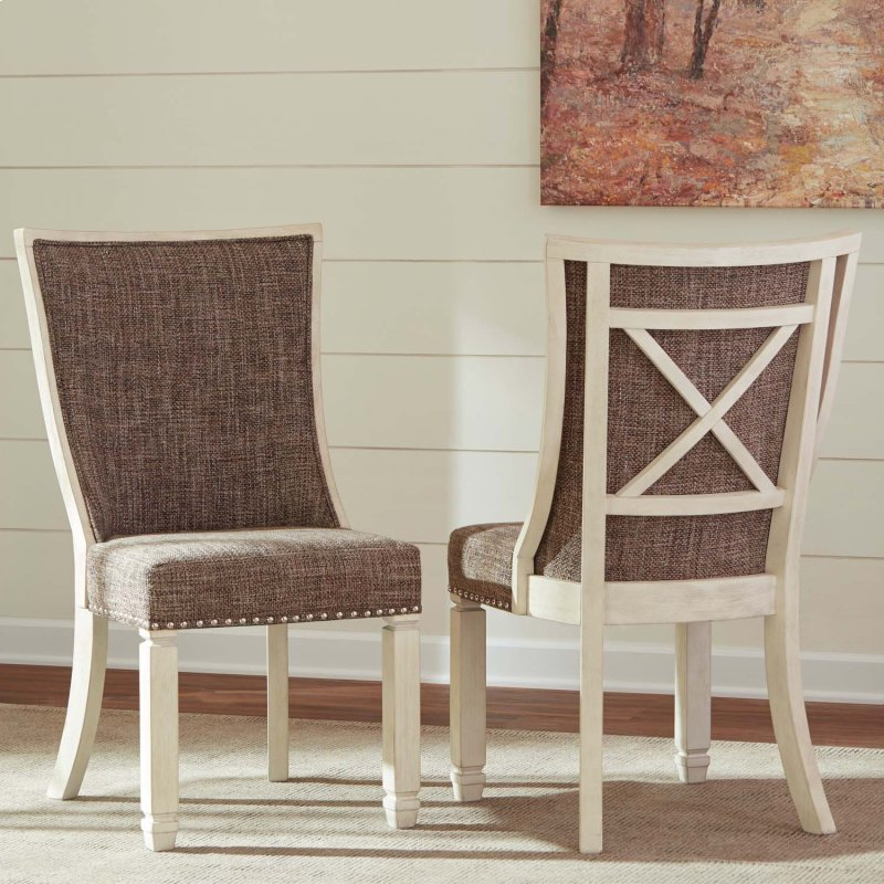 Bolanburg - Antique White Set Of 2 Dining Room Chairs - D647SDB In By Ashley Furniture In Cleveland, OH - Bolanburg