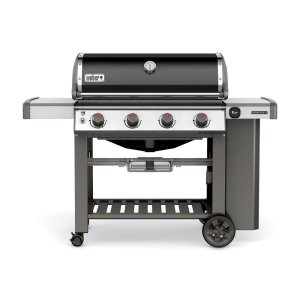 WeberGenesis II E-410 Gas Grill Black Natural Gas