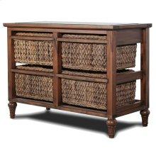4-Basket Horizontal Storage Cabinet