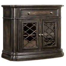 Bedroom Auberose One-Drawer Two-Door Nightstand