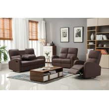Alexander Brown Fabric Recliner Chair