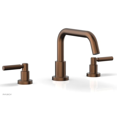 BASIC Deck Tub Set - Lever Handles D1132D - Antique Copper
