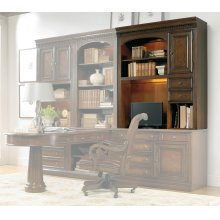 Home Office European Renaissance II Computer Credenza Hutch