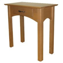 Chairside Table with Drawer