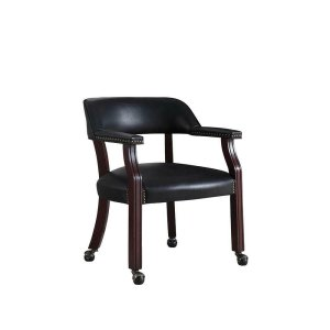 CoasterTraditional Black Home Office Chair