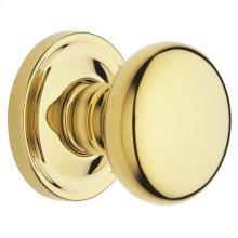 Lifetime Polished Brass 5015 Estate Knob