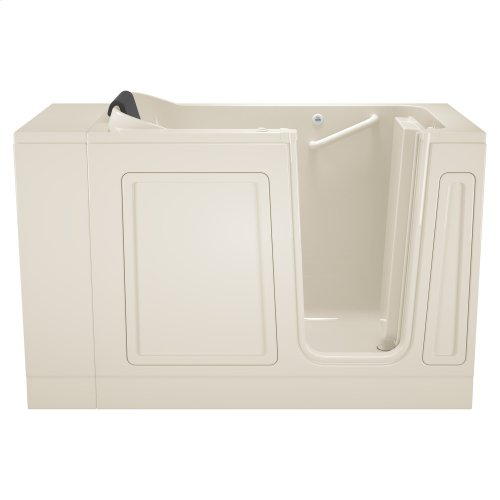 Luxury Series 28x48-inch Walk-in Whirlpool Tub  Right Drain  American Standard - Linen