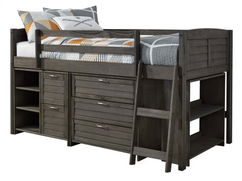 Caitbrook - Gray 2 Piece Bed Set (Twin)