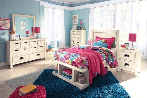 Blinton - White 3 Piece Bed Set (Twin)