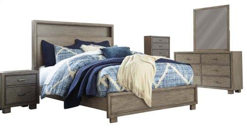 Arnett - Gray 2 Piece Bed Set (Queen)