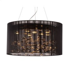 Symmetry Ceiling Lamp Black