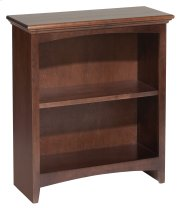 "CAF 29""H x 24""W McKenzie Alder Bookcase with Cafe Finish Product Image"