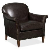 Living Room Cavallo Leather Club Chair