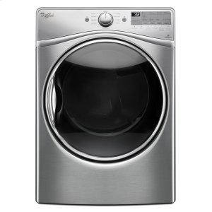 7.4 cu.ft Front Load Electric Dryer with Advanced Moisture Sensing, EcoBoost - DIAMOND STEEL