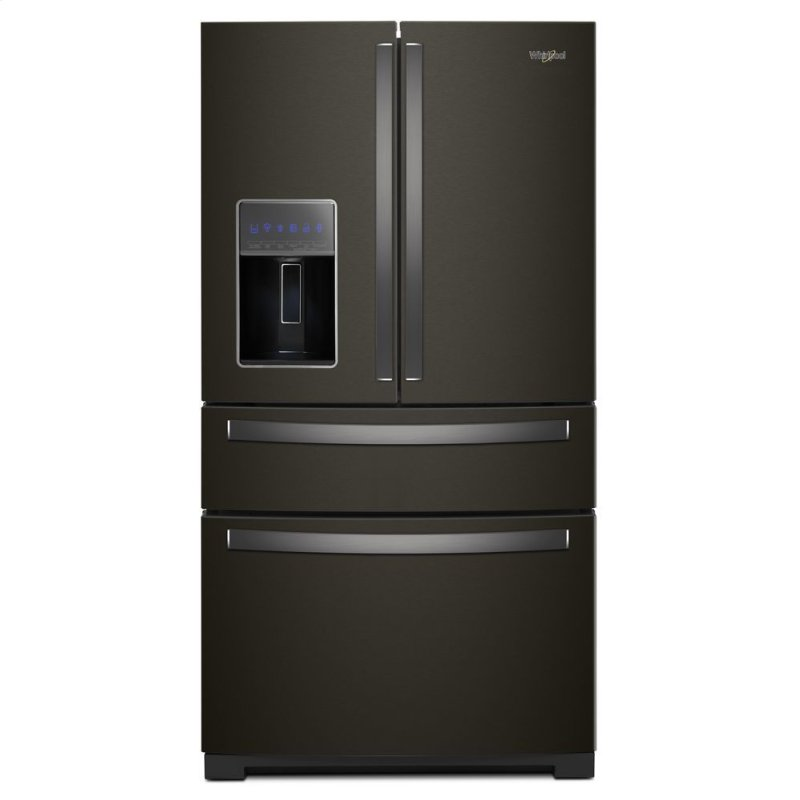 Wrx986sihv Whirlpool 36 Inch Wide 4 Door Refrigerator With
