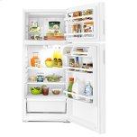 Amana 28-Inch Top-Freezer Refrigerator With Gallon Door Storage Bins White