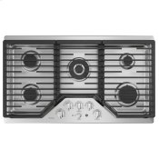 "36"" Built-In Tri-Ring Gas Cooktop with 5 Burners and Optional Extra-Large Integrated Griddle"
