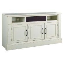 Blinton - White 2 Piece Entertainment Set