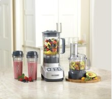 VELOCITY Ultra Trio 1 HP Blender/Food Processor with Travel Cups
