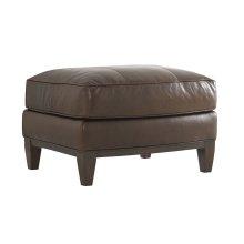 Conrad Leather Ottoman