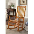 Traditional Wood Rocking Chair Product Image