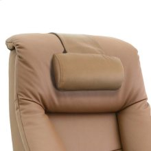 Mandal Cervical Pillow in Sand Top Grain Leather