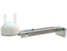 Outdoor moisture and temperature sensor, supplied with mounting bracket