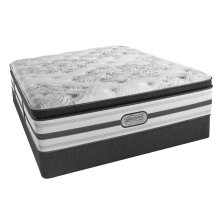 Beautyrest - Platinum - Hybrid - Agatha - Plush - Pillow Top - Cal King