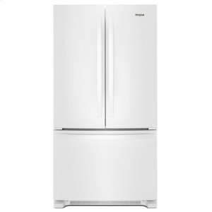 36-inch Wide French Door Refrigerator with Water Dispenser - 25 cu. ft. - WHITE