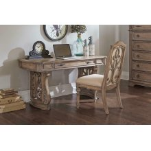 Ilana Traditional Antique Linen Writing Desk