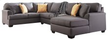 Brioni Nuvella® - Gray 3 Piece Sectional