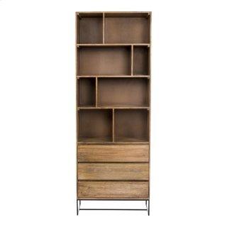 Colvin Shelf W/drawers
