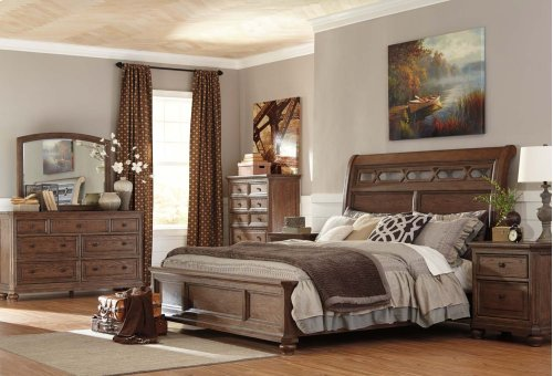 King Panel Bed