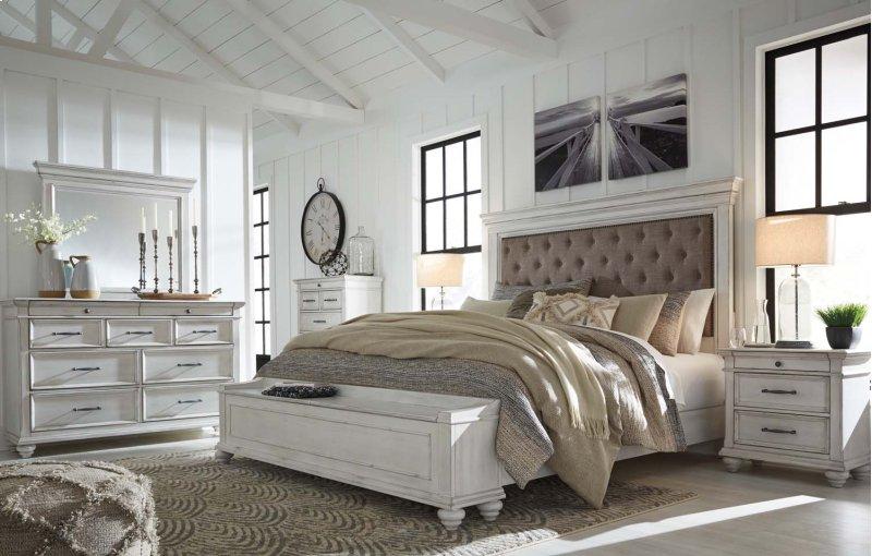 B777B1 in by Ashley Furniture in Orange, CA - Kanwyn - Whitewash 2 ...