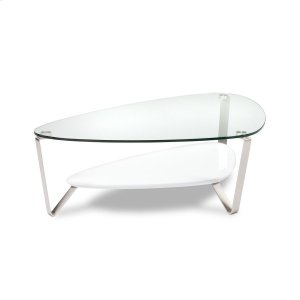 Bdi FurnitureLarge Coffee Table 1343 in Gloss White