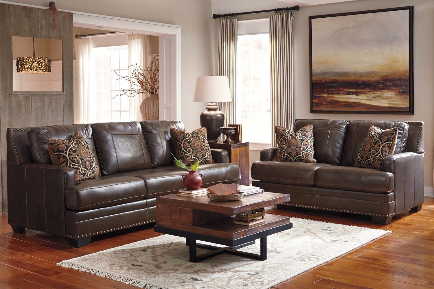 Hidden · Additional Ashley 69103 Corvan   Antique Living Room Set Houston  Texas USA Aztec Furniture