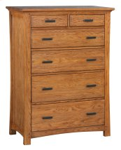LSO 6-Drawer Prairie City Chest