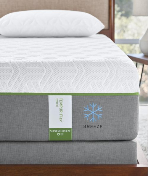 TEMPUR-Flex Collection - TEMPUR-Flex Supreme Breeze - Queen