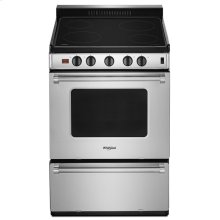 24-inch Freestanding Electric Range with Upswept SpillGuard Cooktop