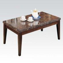 BLACK MARBLE COFFEE TABLE