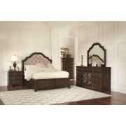 Ilana Traditional Antique Java Eastern King Four-piece Set Product Image