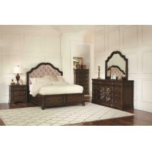Ilana Traditional Antique Java Eastern King Four-piece Set